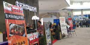Beberapa stand di Marketinf Fair (anja)