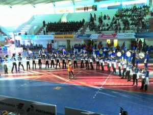 Marching Band Upacara pembukaan Proliga 2016