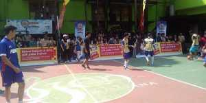 Fun futsal Arema Goes to School. (Deny)
