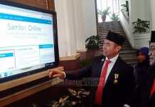 Launching Sambat Online