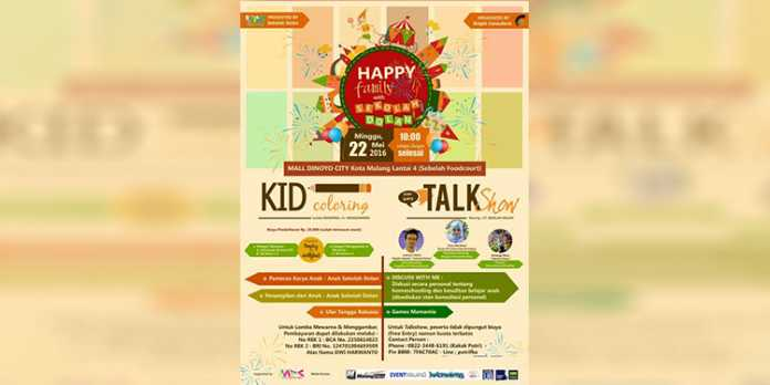 Poster Happy Family (istimewa)