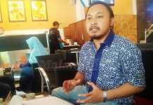 Corporate Secretary & PR Persema Malang, Dito Arief. (Muhammad Choirul)