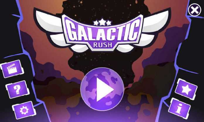 Game Galactic Rush. (istimewa)