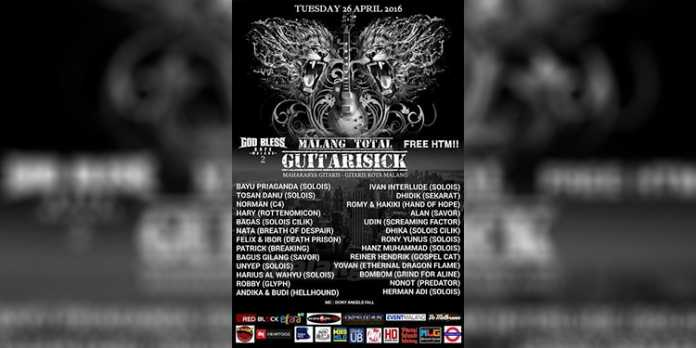 Malang Total Guitarisick di God Bless Cafe 2
