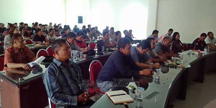 Suasana gathering provider outbound Indonesia di Block Office (fathul)