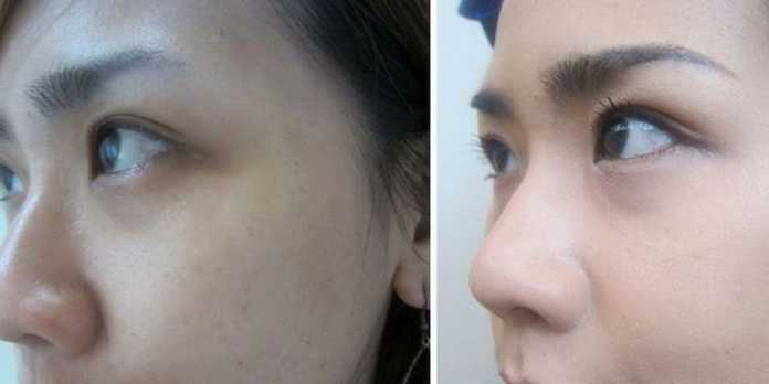Contoh eye shadow (istimewa)