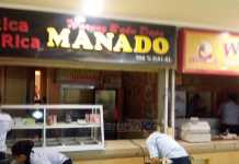 Lokasi food court Matos. (deny)