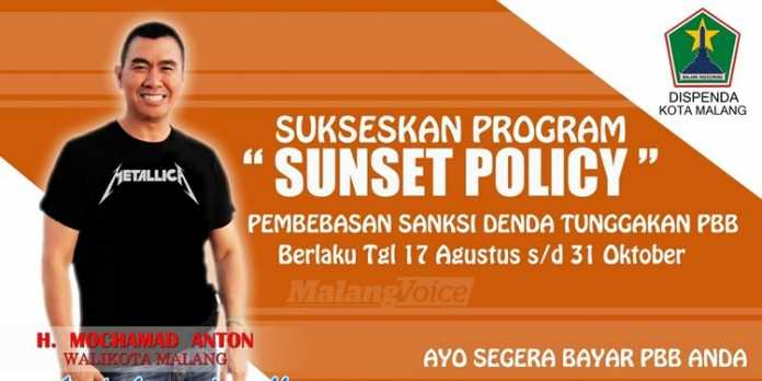 Sunset Policy Pemkot Malang