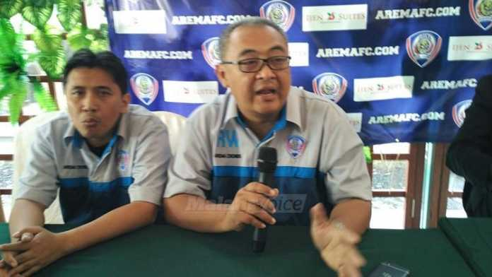 General Manager Arema Cronus, Ruddy Widodo. (deny)