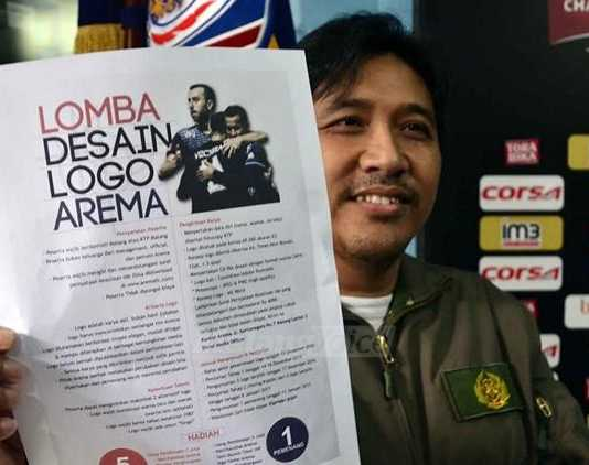 Media Officer Arema Cronus, Sudarmaji. (deny)