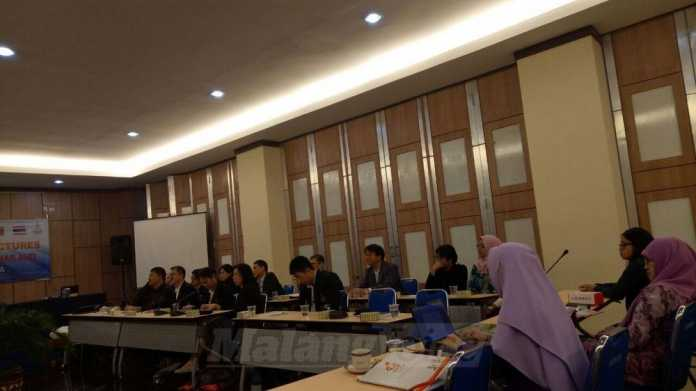 Pertemuan FMIPA UB dengan Suranaree University of Technology Thailand (Tika)