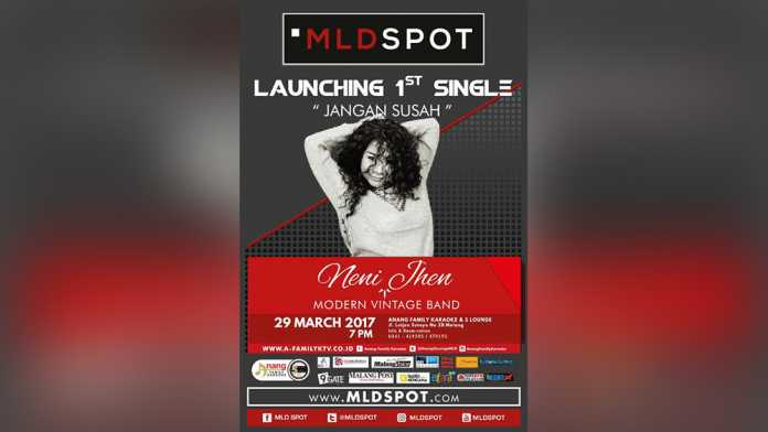 Poster Launching Single Neni Jhen (anja)