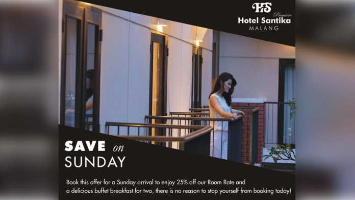 Save on Sunday. (istimewa)