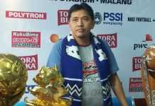 Media Officer Arema FC, Sudarmaji. (@ijamradus76)