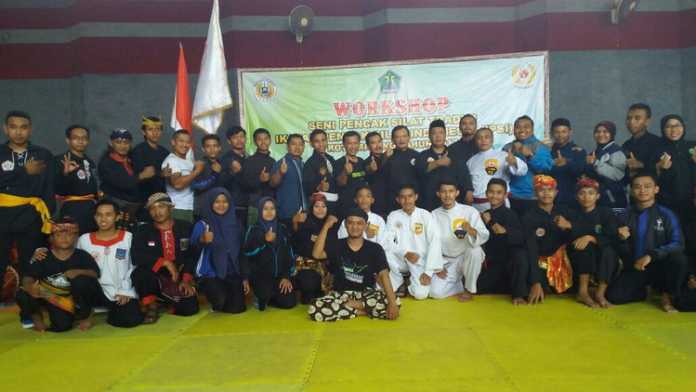 Workshop pencak silat tradisi (istimewa)