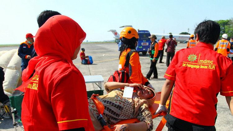 Muhammadiyah Disaster Management Center in action. (Istimewa)