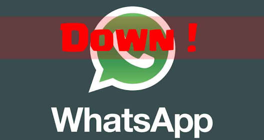 Whatsapp down. (Meetokerepublic.com)