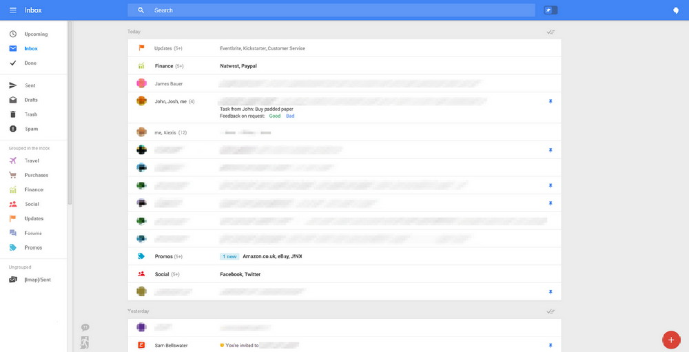 Gmail new look. (Huffingtonpost)