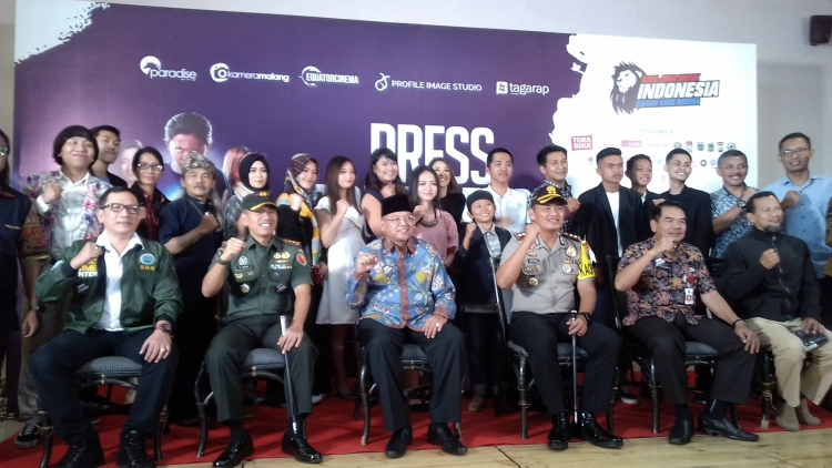 Press Conference DBA 2. (Lisdya Shelly)