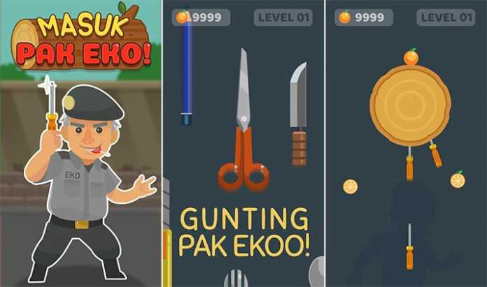 Game Masuk Pak Eko di Google Play Store. (Google/MVoice)
