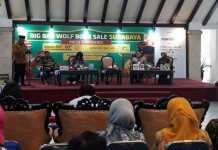 Suasana konferensi pers The Big Bad Wolf. (Toski D)