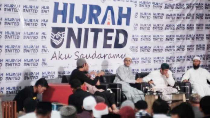 Suasana tabligh akbar Hijrah United