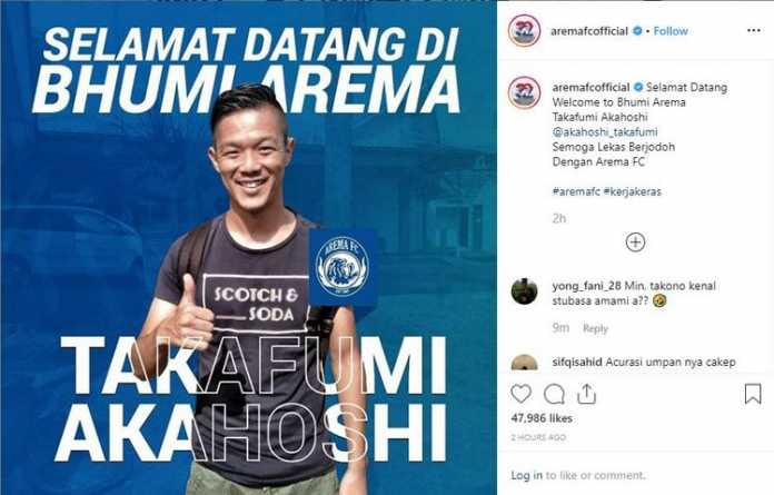Instagram Arema FC Official.