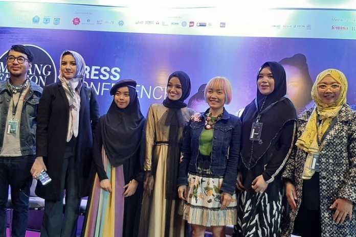 Konferensi pers Malang Fashion Week 2019. (Lisdya)
