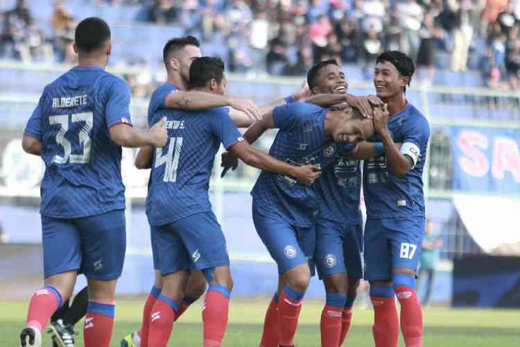 Skuat Arema FC. (Arema FC Official)